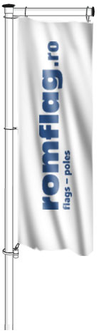 ROTATING BANNER ARM FLAGPOLE